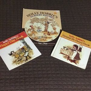 Lot of Vintage (1970's) Holly Hobby Books